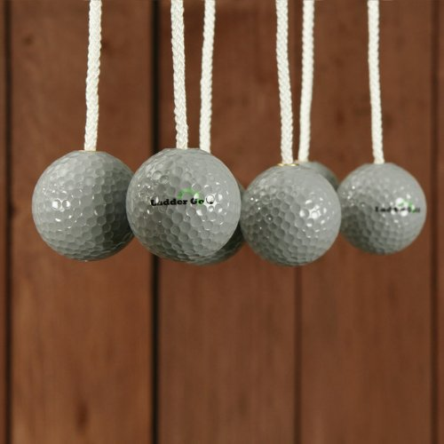 Set of 3 Ladder Golf Bolas-Silver